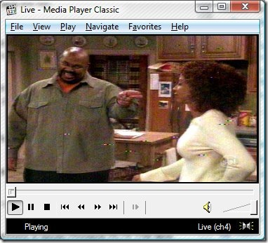 Media Player Classic x Pinnacle PCTV 110i