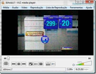 VLC Media Player x Pinnacle PCTV 110i